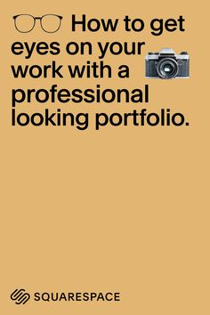 Learn how to make an online portfolio that lets your work speak for itself.
