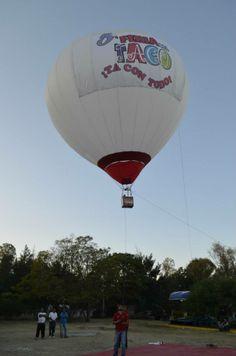 renta de globo aerostatico para publicidad