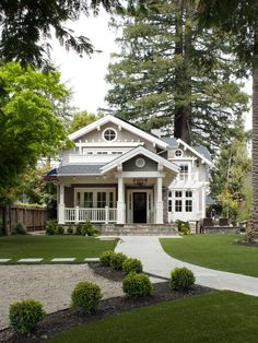 just perfect- Mill Valley Classic Cottage - traditional - exterior - san francisco - Heydt Designs