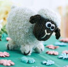 Baa-bara the sheep! Free Knitting Pattern.