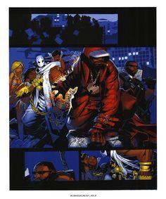 Wu Disciples: THE WU-TANG COMICS THAT NEVER WERE: WU-MASSACRE art by Chris Bachalo
