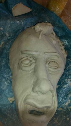 Mijn uiteindelijke masker ik vond het moeilijk om iets nieuws te verzinnen maar dit is mijn maskerr