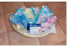 whole basket made for twins.