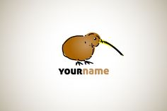 Logo for sale: Kiwi Bird Logo
