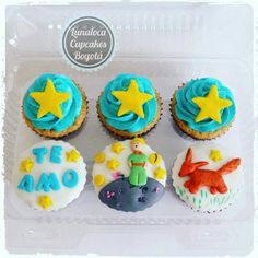 Cupcakes El Principito (The Little Prince)