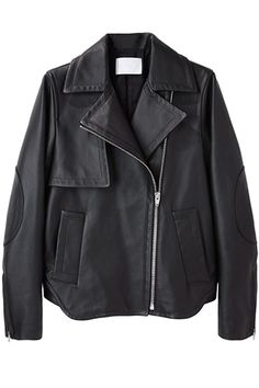 """""""Bury Me In This"""" Leather Jacket — A black, leather moto has the ability to instantly make any outfit feel as cool and sexy as Marlon Brando in A Streetcar Named Desire. Give your leather jacket some love with the right conditioner, and it will stick with you for life. Alexander Wang Perfecto Leather Jacket, $1,595, available at La Garçonne."""