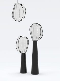 Collection Zeppelin, Ionna Vautrin (Moustache) Maison & Objet 2015 Bar Lighting, Interior Lighting, Lighting Design, Id Design, Lamp Design, Zeppelin, Mobiles, Ceiling Lamp, Ceiling Lights