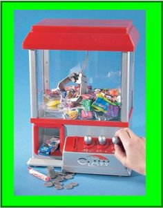 """For Sell -->> """"The Claw"""" Electronic Candy Grabber Machine Arcade Game From JSNY Price:$25.99 Search & buy on this app http://apps.facebook.com/toysstore/"""