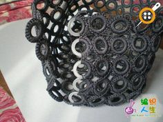 tig-with-rings-fabrication de canta – oidis Master Class, Crochet Accessories, Plastic Canvas, Diy And Crafts, Crochet Necklace, Etsy, Sewing, My Style, Rings