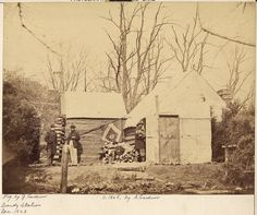 Title Virginia, Brandy Station, Residence Chief Quartermaster, Third Army Corps.