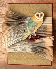 Altered Book Art by Rachel Ashe from www.myowlbarn.com