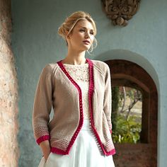 This beautiful edge to edge inspired cardigan really catches the essence of wild flowers scattered across the English countryside. Perfect for those breezy summer walks along the canals. Fair Isle Knitting, English Countryside, Spring Summer 2015, Knit Cardigan, Wild Flowers, Knit Crochet, Charlotte, Ravelry, Sweaters