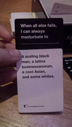 Cards against humanity Best. Win. Ever.