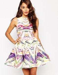 AQ AQ Digital Print Hollie Dress