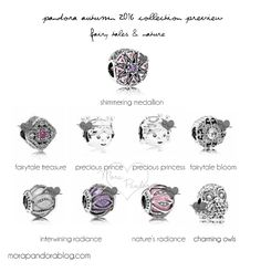 Pandora Autumn 2016 collection - Fairy Tales and Nature