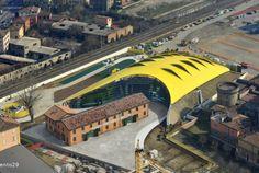 RECityMagazine - http://www.recitymagazine.com/project-254-future-systemsshiro-studio-enzo-ferrari-museum