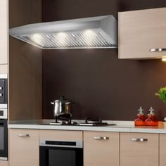 "THOR KITCHEN HRH4806U 48"" High Quality Anti-fingerprint Stainless Steel Under Cabinet Range Hood Professional 900 CFM Kitchen Ventilator"