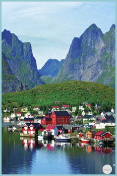 Dream Village in Europe: Here are 10 villages of fairy tales to discover – Travel and Tourism Trends 2019 Lofoten, Destinations D'europe, Fishing Villages, Resort Spa, New York City, Places To See, Norway, Travel Inspiration, Beautiful Places