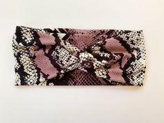 Tie Headband, Yoga Headband, Turban Headbands, Fabric Headbands, Headbands For Women, Scarf Hairstyles, Hair Ties, Head Wraps, Snake Skin