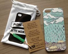 Phone Case of the Month Subscription... only 10 dollars!