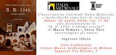 """MedioEvo Weblog: """"A.D. 1243. L'ultimo assedio"""" presentazione a Milano"""