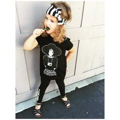 Do you spot OUR NEW TOMBOY leggings  <HOLLA> + of course I LOVE our tee from @cutiepatudies ❤️ + We All know I love black & white stripes!! Perfect headwrap from @mimi_makes   ✌️#instafashion #fashionspo #style #styleinspo #streetstyle #ootd #styleclubla #kids_stylezz #trendykiddies #hipsterkidstyles #trendy_tots #igkiddies #kidfashion #wee