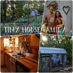 Tiny House Family... a family that has made a mortgage free house on their own over the course of 5 years. Inspiring story! Thinking about taking their E-Course too!