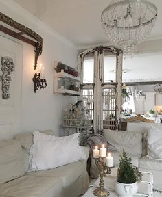 Old door frames - Great way to divide a room space in an open plan area