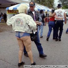 grandma rocking the daisy dukes and then some | See more about short shorts, rednecks and daisy dukes.