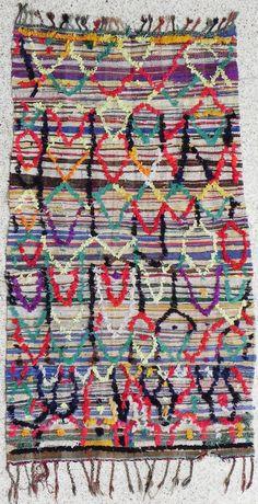 Boucherouite Rug #10 - 7.5 x 4