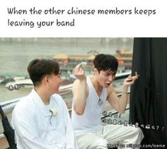 Awwww my sweety lay...but i miss other chinese members so much ...