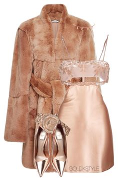 """""""HEY MA."""" by goldxstyle ❤ liked on Polyvore featuring MSGM, La Perla and Audemars Piguet"""