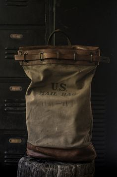 US Mail Bag    Vintage, item is not perfect.    ALL SALES ARE FINAL