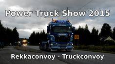 Power Truck Show 2015 - Rekkaconvoy   Truckconvoy - Alahärmä, Finland