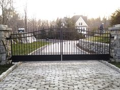 Automated Iron Entrance Gate