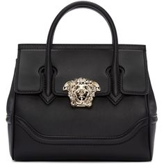 Versace Black Medium Palazzo Empire Bag ( 2,290) ❤ liked on Polyvore  featuring bags, 8d6a696ab2