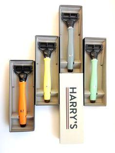 Harry's beautifully engineered men's razors