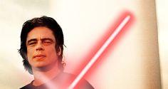 Lee Benicio del Toro podría ser el villano en 'Star Wars VIII'