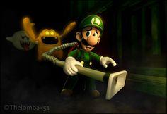 Luigi's Mansion Artwork  #Mario #Nintendo #gamecube