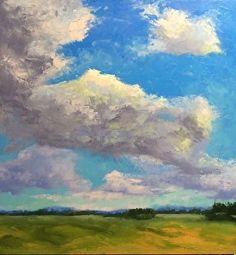 Near and Far by Addren Doss Oil ~ 24 x 24