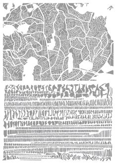 istanbul The Famous Grids of Iconic Cities, Deconstructed and Remixed | Brain Pickings