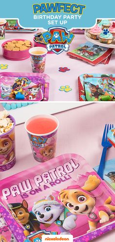 Take party guests on a great adventure with their favorite pups. PAW Patrol party décor brings their favorite Nickelodeon show to life, making this their best birthday yet. Stock up on everything you need to deck out the party at Walmart, including PAW Patrol party paper goods like plates and cups featurying Skye, Everest, Marshall, Chase, and more!