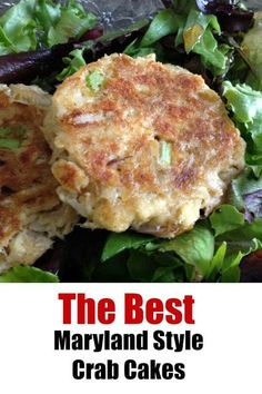How to make Maryland Crab Cakes - Easy, eggless recipe that the customers at our Make Ahead Meal Kitchen LOVED! Crab Cakes Recipe Best, Crab Cake Recipes, Seafood Appetizers, Seafood Recipes, Appetizer Recipes, Eggless Recipes, Cooking Recipes, Meal Recipes, Dip Recipes