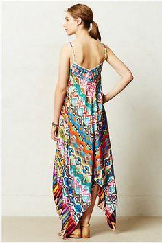 KAS New York Tropical Mosaic Dress