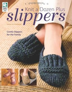 Slippers Knitting Patterns, all free just need to go through and choose