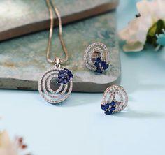 Trendy Jewelry, Gems Jewelry, Bridal Jewelry, Diamond Jewelry, Jewelry Sets, Jewelery, Pendant Set, Diamond Pendant, Statement Necklace Wedding