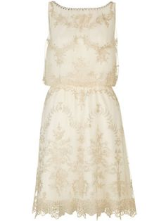This gorgeous vintage print-style dress  laidback-luxe, rustic summer wedding.  Etienne dress, Monsoon