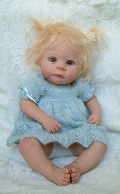Hannah - OOAK art doll by Kim Van De Wetering