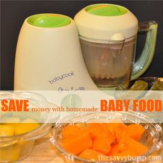 This step-by-step tutorial shows you how to save money by making and freezing homemade baby food!