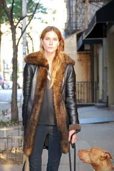 Street Style: Erin Wasson Has 22 Tattoos (and Looks Insanely Beautiful Without Makeup) - Fashionista